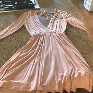 June & Hudson Dresses - Blush dress